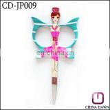 butterfly shaped stainless steel eyebrow scissors CD-JP009