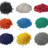 Recycled PET polyester chips/PET plasticizer