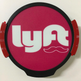 LED car decals, LED logo sign for LYFT Cab service