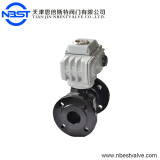 Motorized Cast Iron Flange Ball Valve Mini Motorized 2'' Ball Valve