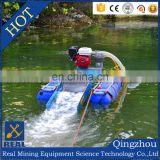 5 inch 13 HP Honda dredge with 3 stage sluice