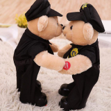 China Manufacture Custom Plush Police Teddy Bear on Sale