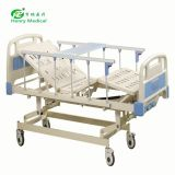 2019 hot sale 3 crank manual hospital bed  examination chair for home use
