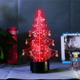 2020 shining led christmas tree for gift with christmas music and lights changing led tree seasoning decoration