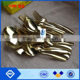 SGS / FDA Gold Cutlery Set