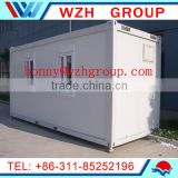 20ft/40ft office design prefab flat pack container homes for sale