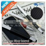 Carbon fiber stylus touch pen 2013 promotional pen apple iphone price