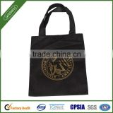 Black or custom logo printed non-woven bag,non woven shopping bag,non woven bag price resuable