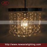 Round globes acrylic clear chandelier acrylic cheap but high-end looks like crystal ceiling lamp