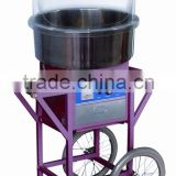 ZY-MJ500 electric flower cotton candy machine with cart