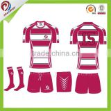 short sleeves blank rugby shirts sublimated cheap custom rugby jersey