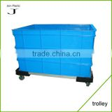 Factory Direct Sale Durable Aluminium Trolley For Plastic Turnover Box