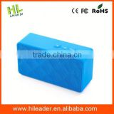 Customized new arrival cheap cube blue tooth speaker