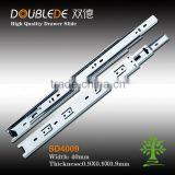 3-fold drawer slide channel/ ball bearing drawer slide/furniture hardware