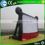 Cheap black inflatable projector TV screens inflatable cinema screen for sale                                                                                                         Supplier's Choice