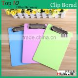 Injection molding A4 size PS PLASTIC CLIPBOARD