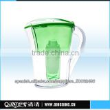 Wholesales High Quality and Ultra-low Price Eco-friendly plastic Promotional Gift Brita & Water filter jug/pitcher ,QQF-03,3.5L