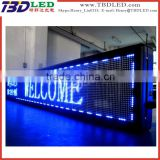 programmable led advertising sign led scrolling moving message billboard sign,indoor/outdoor led display screen