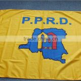 Big manufacturer Printed Type Polyester flags for sale