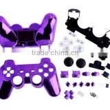 Chrome replacement gamepad shell for PS3 controller shell