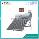 Hige density polyurethane foam 50mm insulate stainless steel copper coil solar water heater