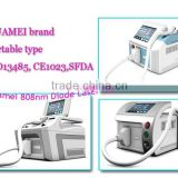 weifang huamei 808nm diode laser portable permanent hair removal apparatus                                                                                                         Supplier's Choice