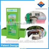 Tunnel washing car cleaning machine on sale with coin/bill payment                                                                         Quality Choice