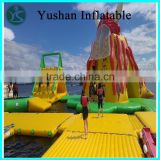 Chinese suppliers Factory price water clibing slide giant inflatable floating water slide