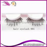 Top quality private label human hair false strip eyelash