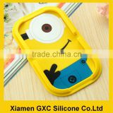minions silicone car dashboard mobile phone sticky pad magic anti-slip mat