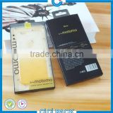 Empty Retail Package Plastic Box Packaging For iPhone Samsung Galaxy Mobile Phone Leather Case