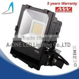 Aluminum flood light led IP65 high efficiency 120W led flood light five years warranty with meanwell driver COB/SMD 2835