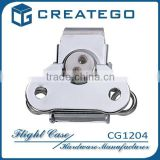 briefcase latch lock hardware with chrome plating