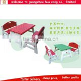 Solid customized arm-chair mating table for school daycare and classroom room