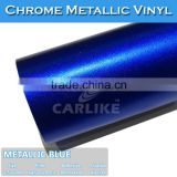 SINO STICKER Air Free Metallic Blue Ice Matte Chrome Car Wrap Film for Car                                                                         Quality Choice