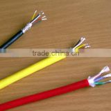 450/750v rated voltage Xlpe insulated copper conductor pvc sheathed woven screened shielded flexible control power cable