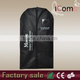 Factory sale ECO high quality cheap zip garment cover bag plastic pocket (ITEM NO:G150456)