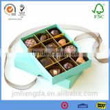Top Sale Professional Merci Chocolate Box With Fancy Design