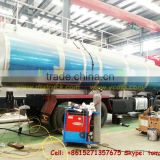IVECO HONHYAN ,GENLYON TANKER Customizing Aluminum alloy 8x4 water bladder fuel tanker truck factory price :86-15271357675