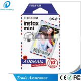FUJIFILM instax mini airmail instant film credit card photo size