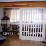 Latest waterproof PVC accordion folding door,PVC door                                                                         Quality Choice
