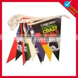 cheap custom paper flag string bunting flag banner