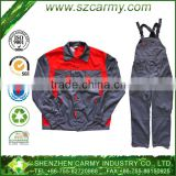 2014 Wholesale New High Quality Fashion Long Sleeves with Bib Pants European Labour Working Workwear