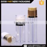25+25ml transparent lotion pump dual chamber bottle for korea market                                                                         Quality Choice