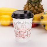 Eco-Friendly Reclaimed Material 12 Oz Cold Paper Cup