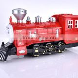 ABS small plastic train toys, hot sale plastic train toys, OEM custom high quality plastic toys factory