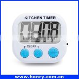 Promotion Gift Mini Digital Travel Desk Electronic Alarm Clock With Date/Time/Calendar/Temperature Display