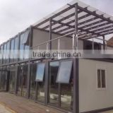 Prefabricated container shop, prefab house, modular house for commercial use, shop, sells center