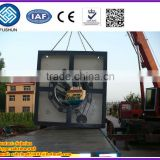 PE large-caliber pipe clamping machine/plastic machinery