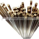 1.5mm x 400mm Multi Hole EDM Brss Electrode Tube & EDM Brass Pipe